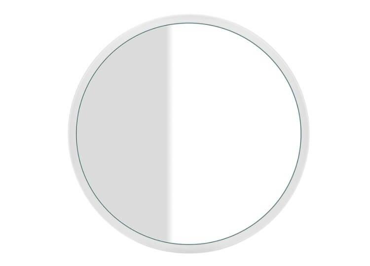 Cono Round Wall Mounted Mirror Abey
