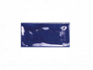 Tavella Cobalt Crackle Subway Tile