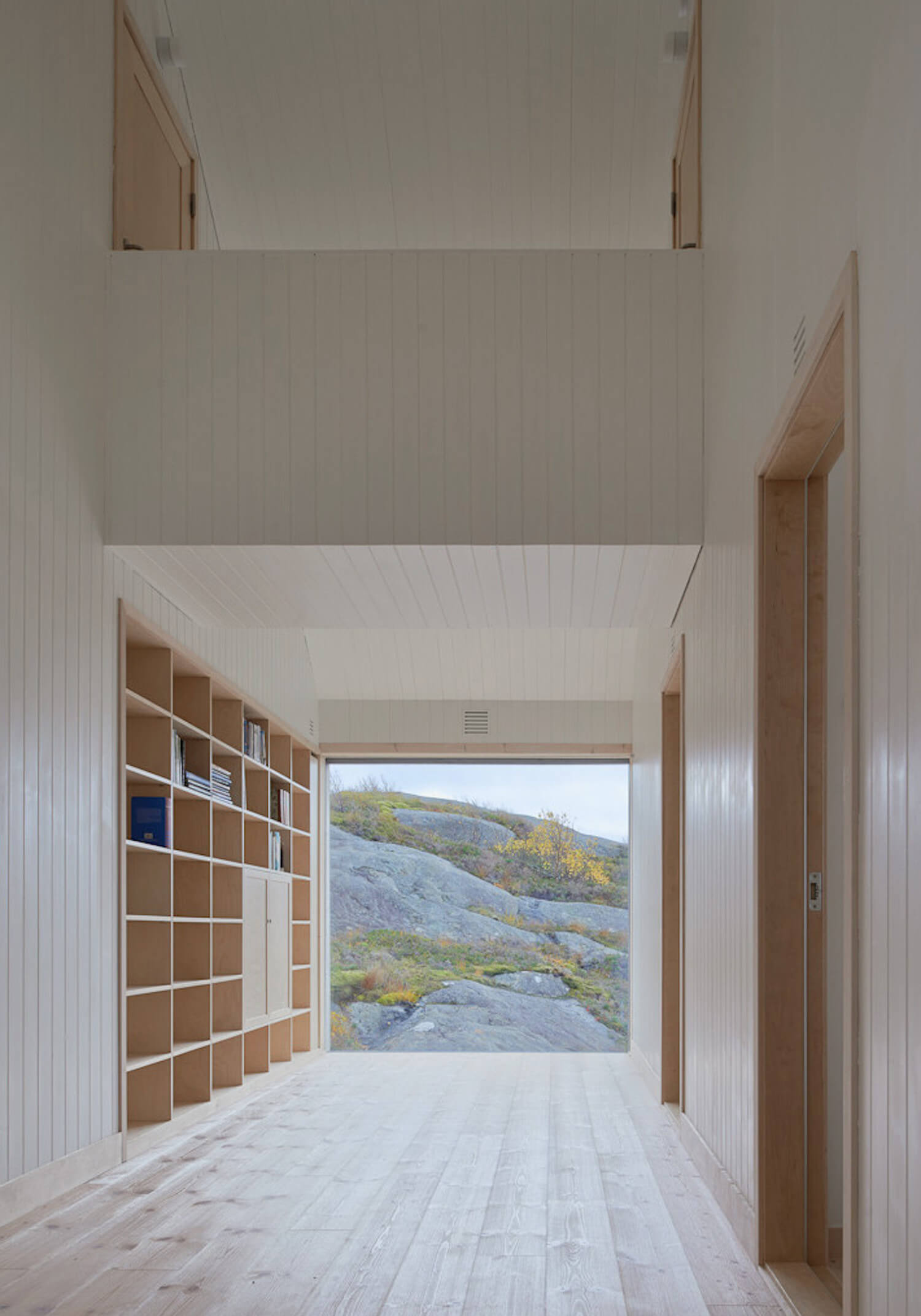 est living roundup log cabins window on the lake vega cottage kolman boye architects norway cabin 14