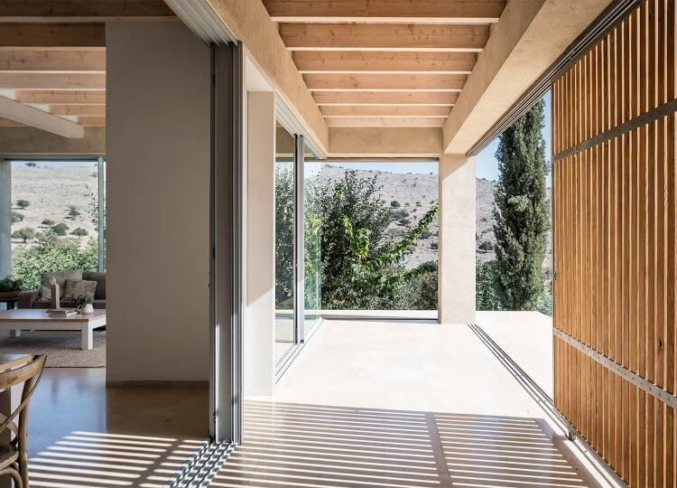 est living global interiors 42 Golany Architects Residence in the Galilee Amit Geron 750x540