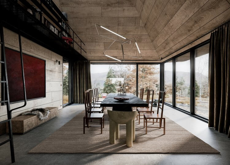 Oak Refuge by Corpus Studio