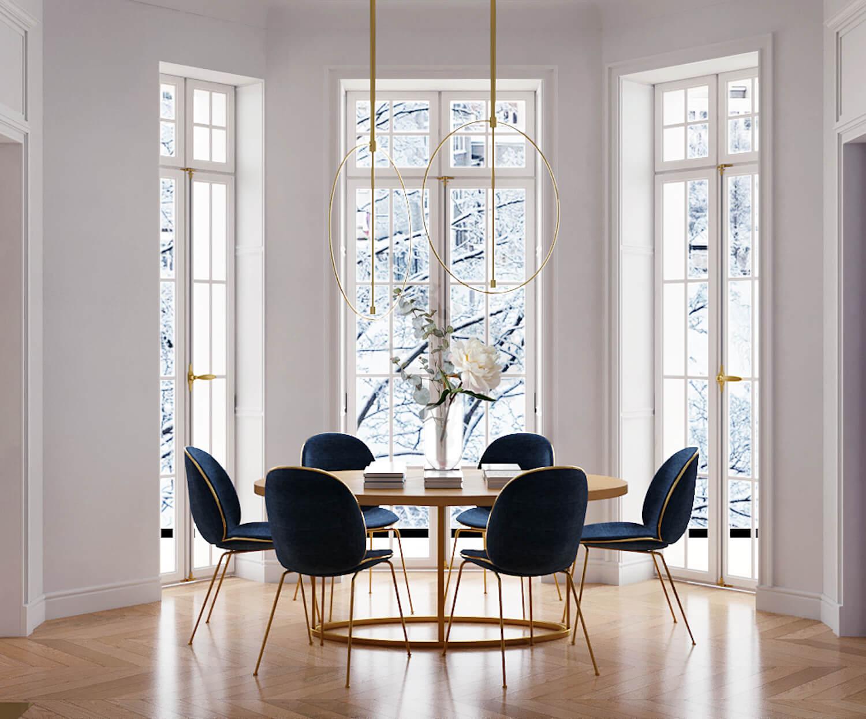 Parisian Apartment by Crosby Studios
