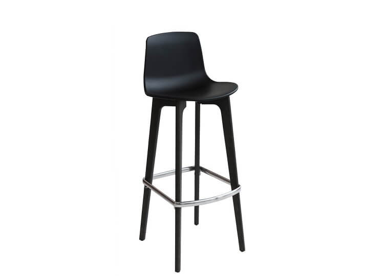 Lottus Wood Barstool Buydesign