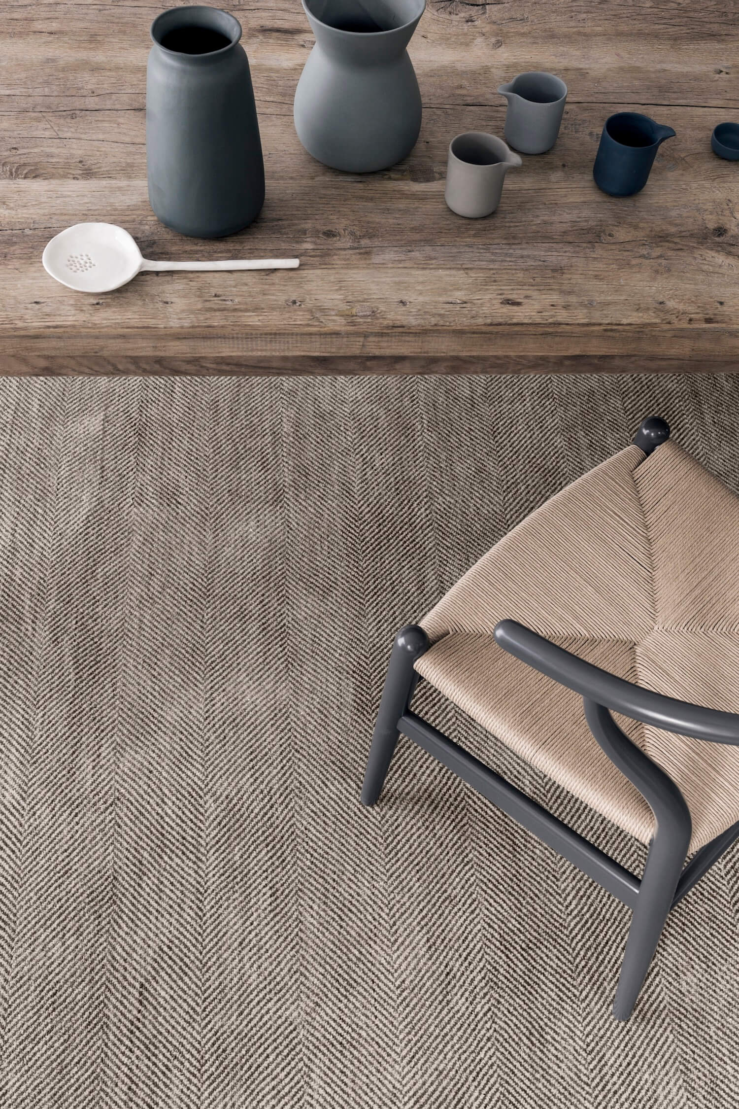 Babylon Rug - Sterling & Bronze | Armadillo & Co