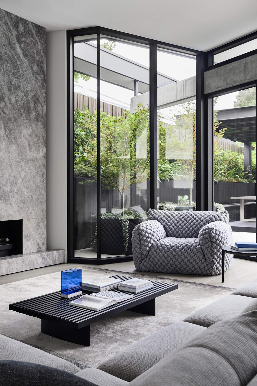 est living interiors aap residence mim design 1