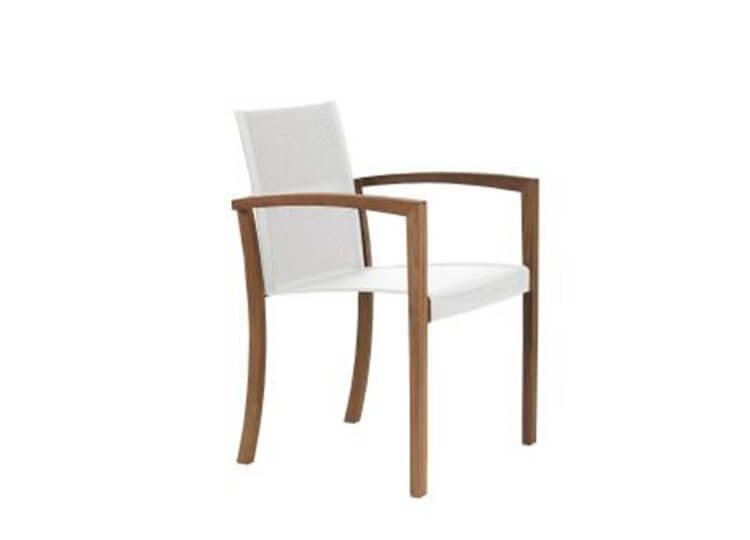 XQI Outdoor Dining Chair Parterre