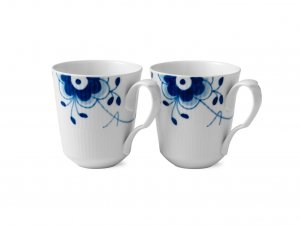 Blue Fluted Mega Mugs
