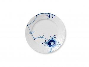 Blue Fluted Mega Plate