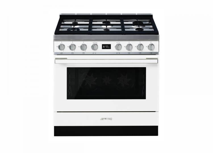 Smeg Portofino Thermoseal Pyrolytic Freestanding Cooker