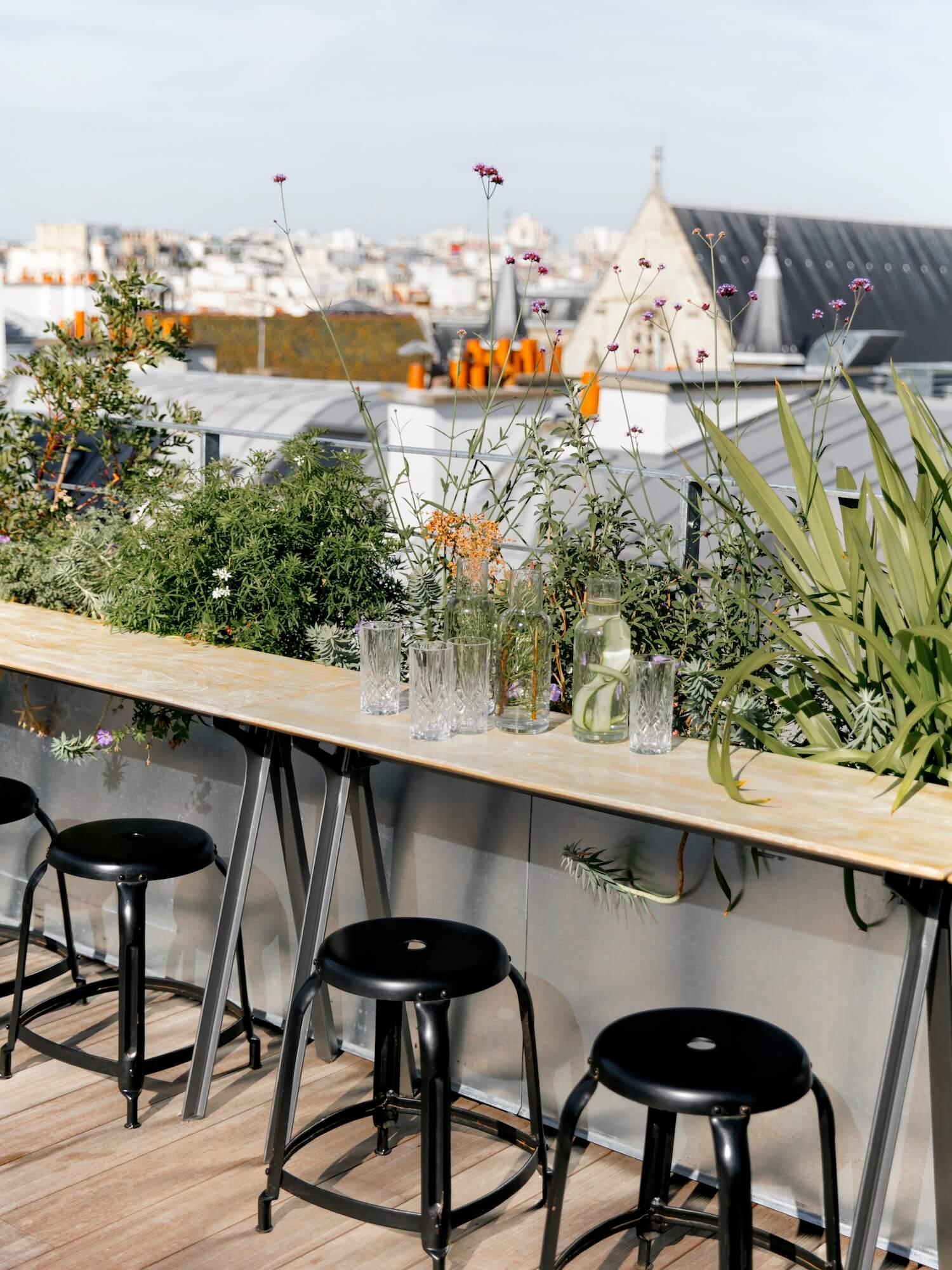est living travel hotel des arts et metieres Rooftop 3