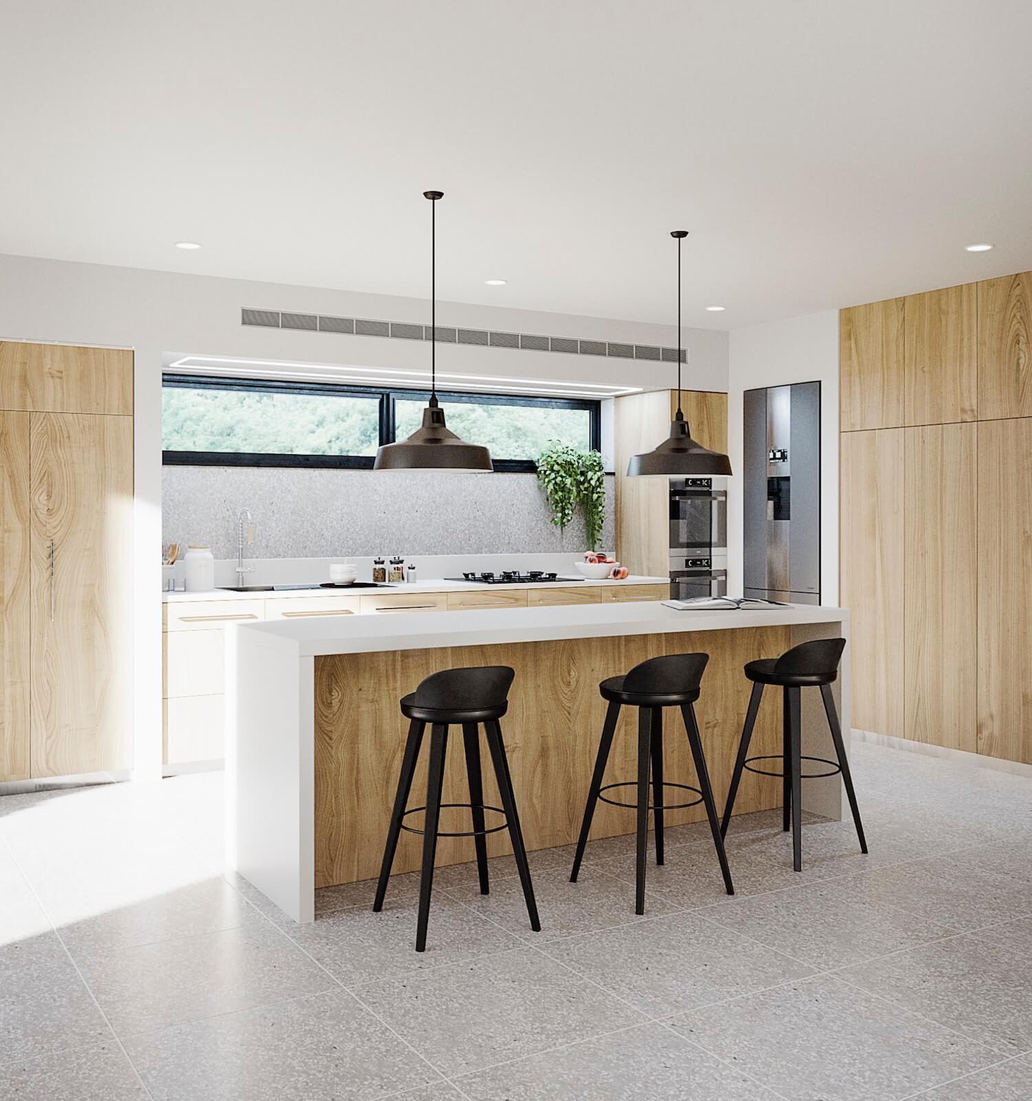 est living Kitchen Terrazzo Northstone