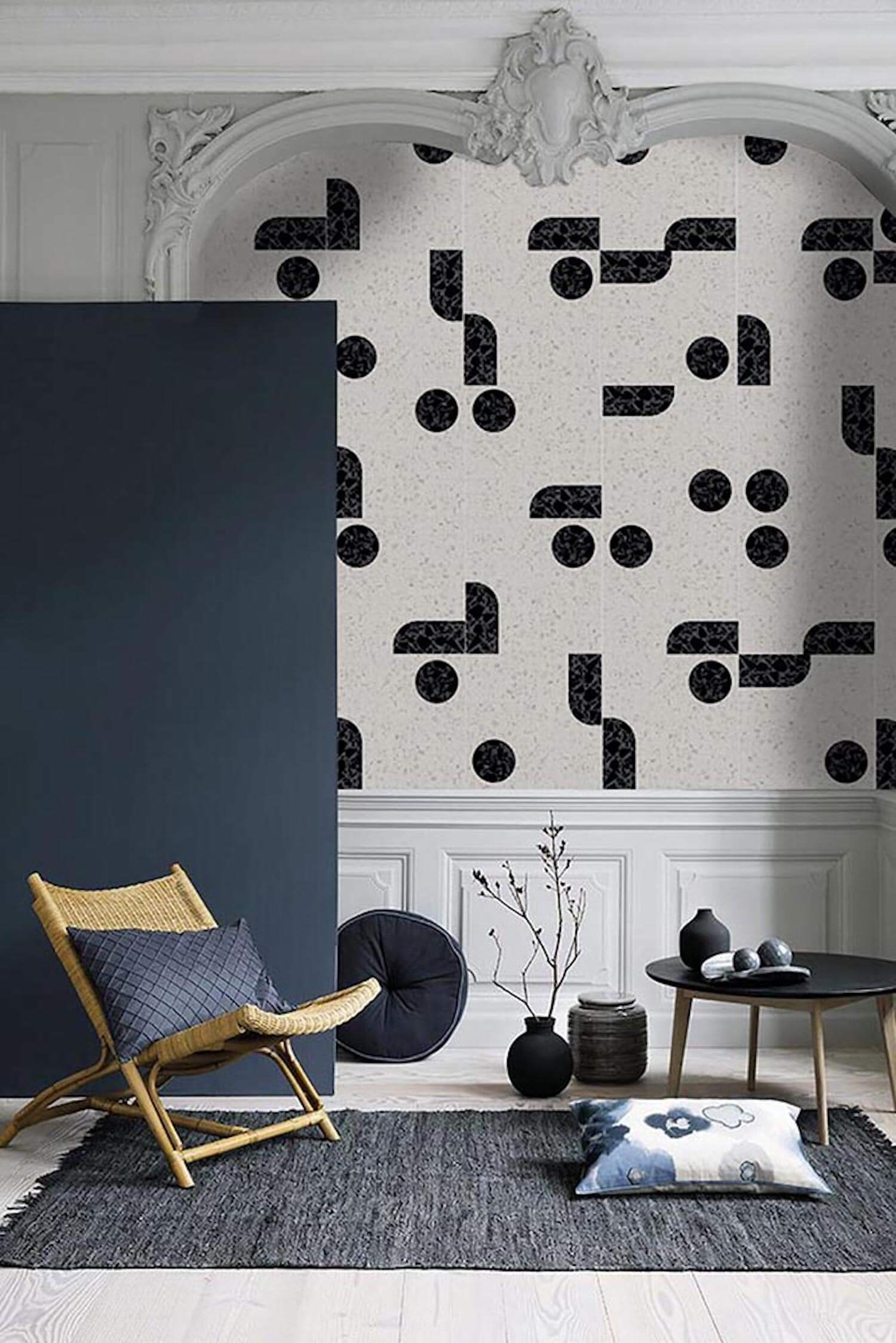 est living Northstone Terrazzo Design Leggero Pattern 89