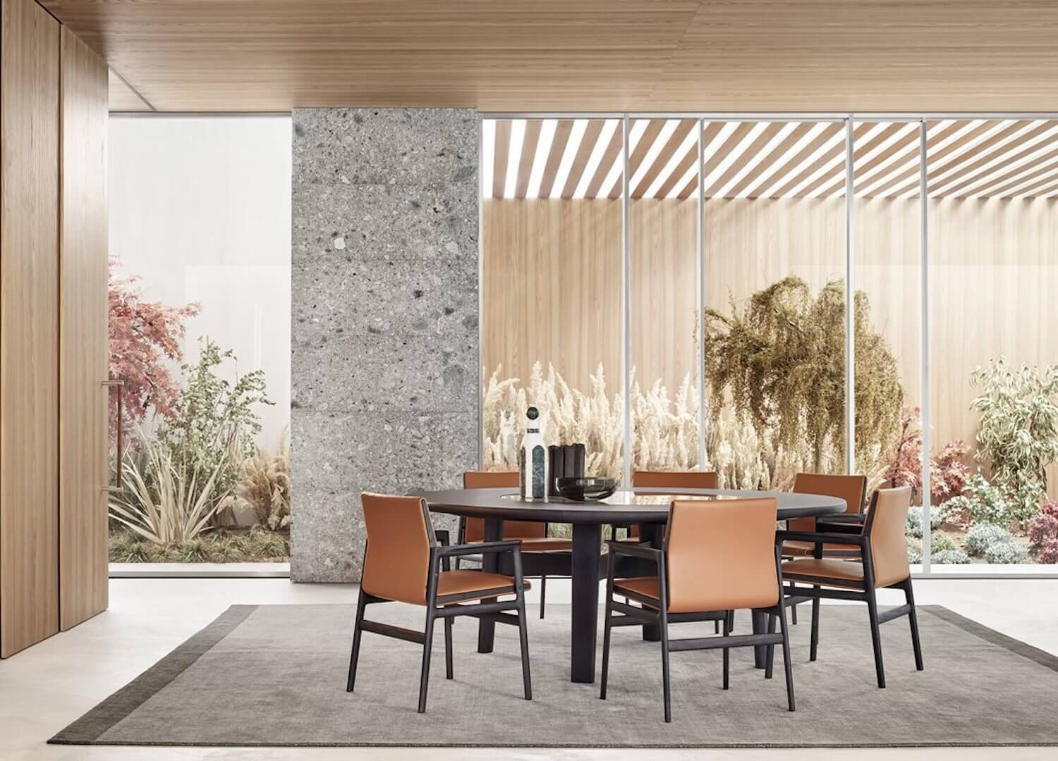 est living poliform dining home hotel ipanema chairs 1 copy