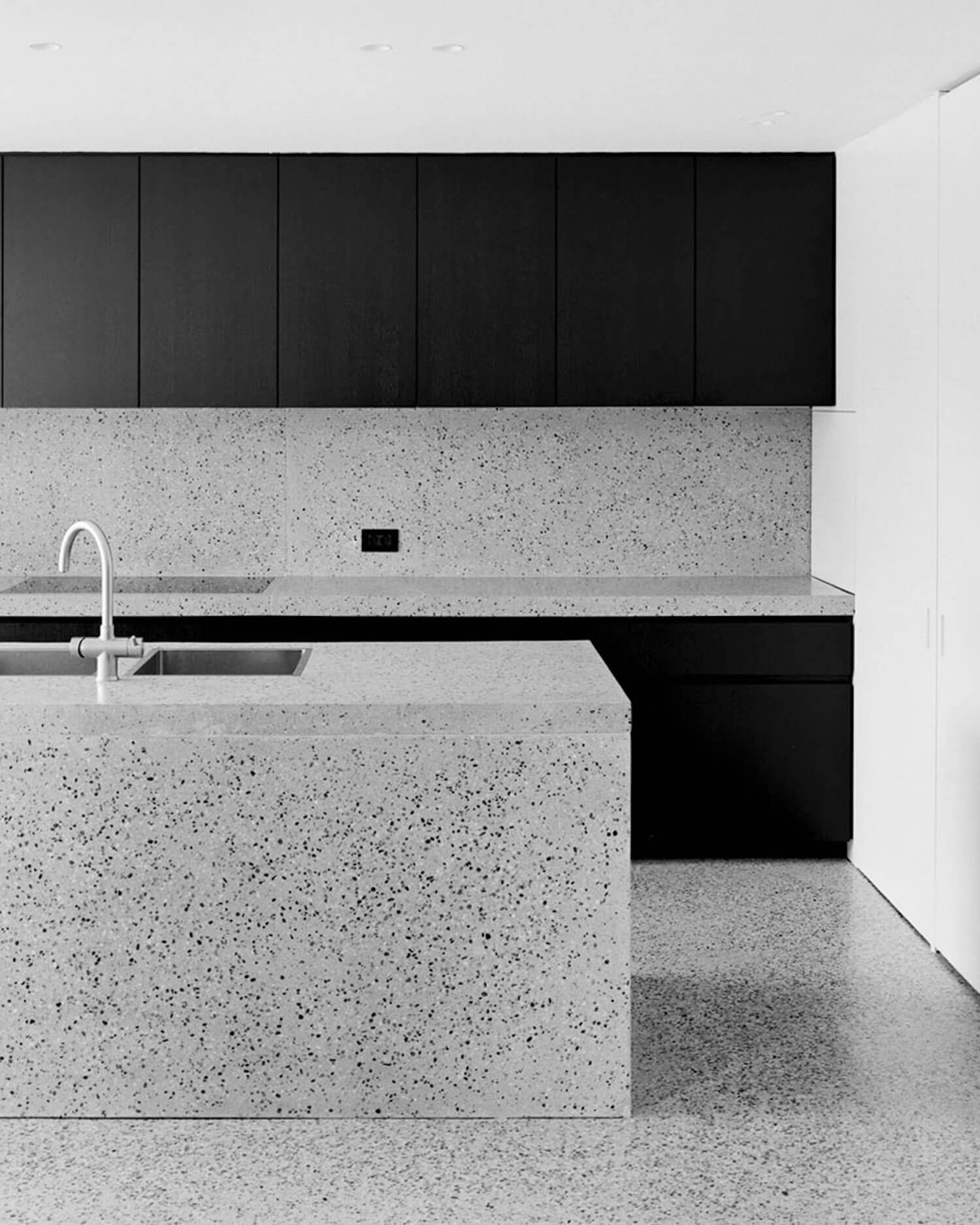 est living terrazo rolies kitchen 72