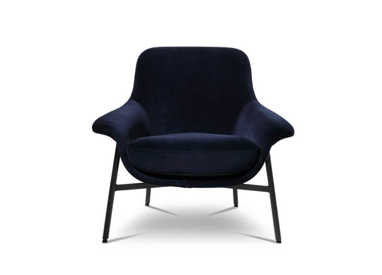 Seymour Low Fixed Chair King Living