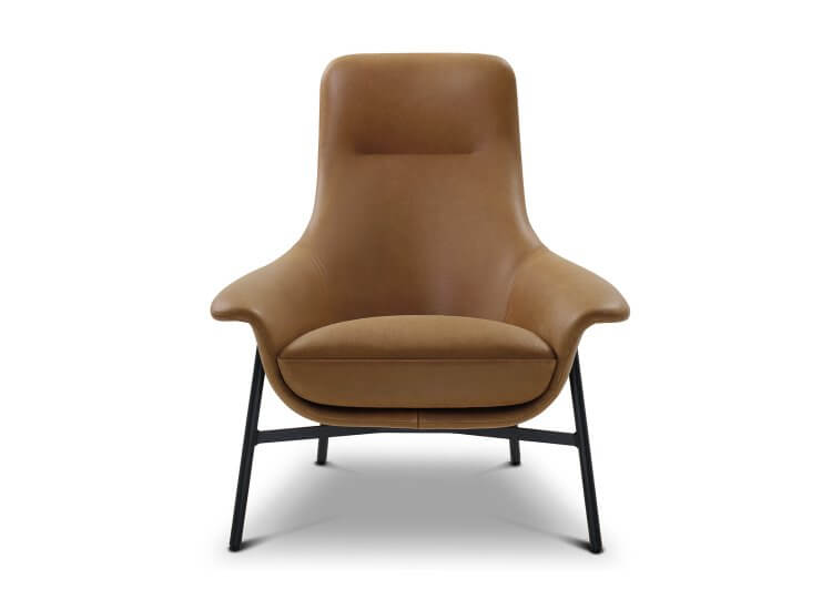 Seymour Mid Fixed Chair King Living