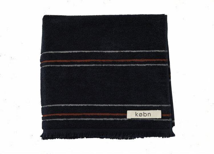 Købn Black Towel