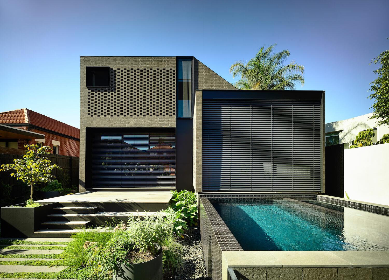 est living york street residence jackson clements burrows architects brickworks 18