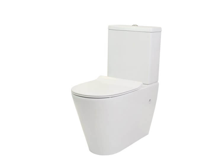 Manhattan Rimless Toilet Suite