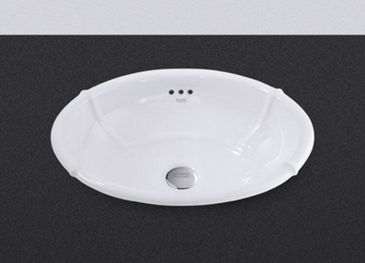 Impero 50 inset basin Studio Bagno
