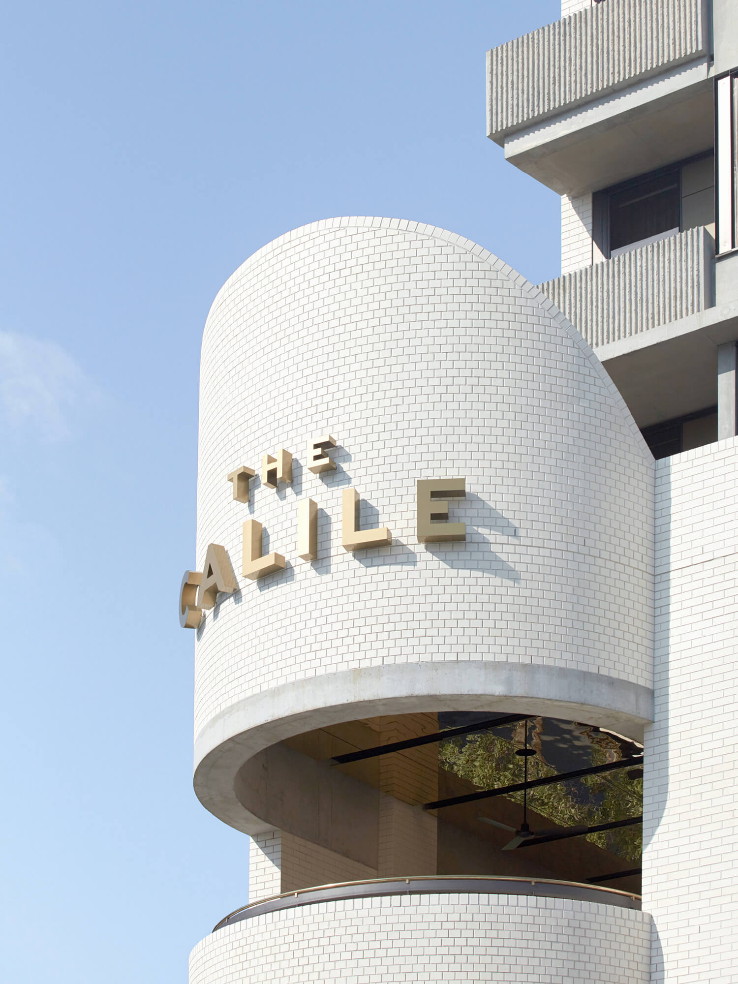 Calile Hotel by Richards and Spence Architects
