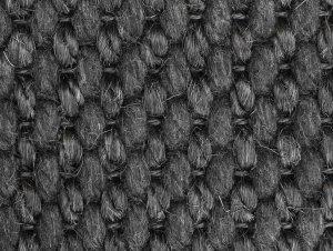 Belgian Jet Black Basquette Carpet