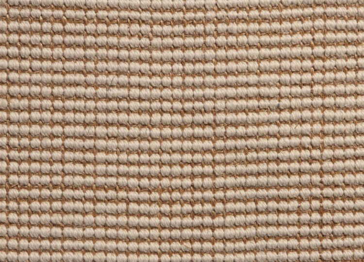 Cream Sisal with Wool Carpet