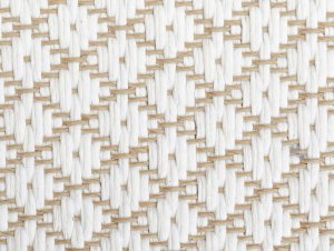 Edelweiss Cotton With Paper – Belgian Sand Herringbone Cotton