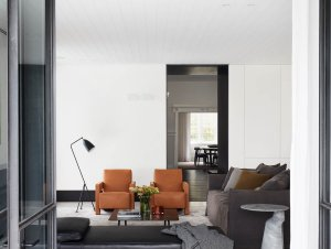 Living Room: Centennial Park House by Madeleine Blanchfield Architects
