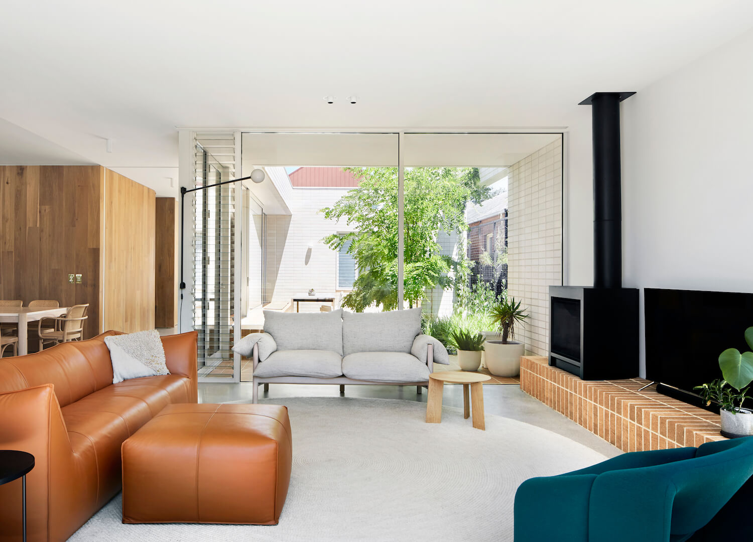 est living garden room house clare cousins brickworks 6