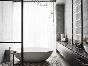 Bathroom 2: Killcare House by Decus Interiors