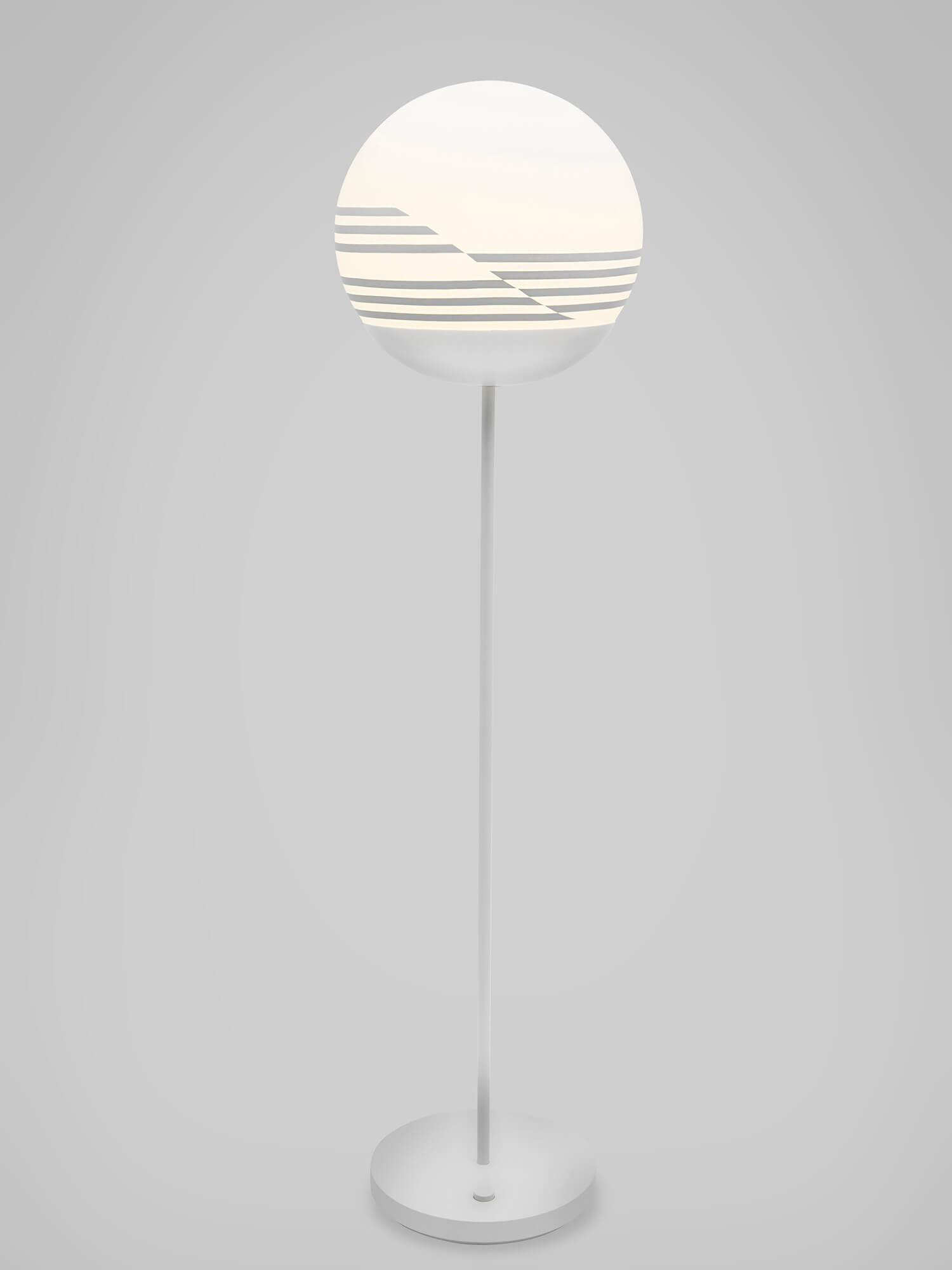 est living lee broom 10 year optical floor lamp