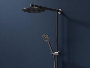 Eccentric Dual Rail Shower