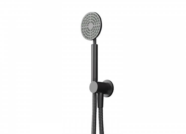 Eccentric Hand Shower on Integrated Wall Union