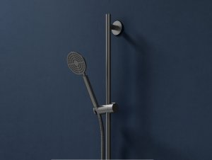 Eccentric Hand Shower on Rail