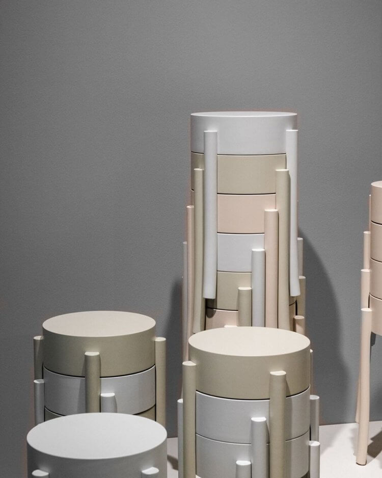 est living stockholm furniture fair avavick stool swedese 1 750x938