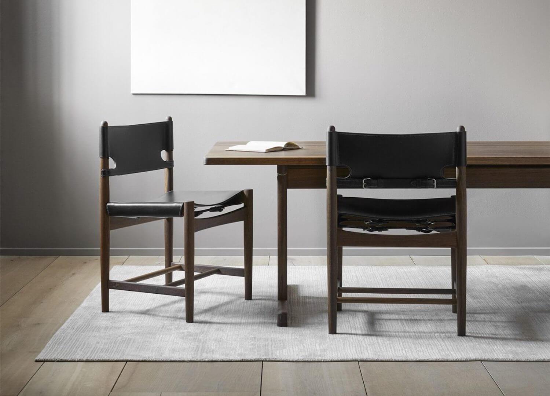 est living stockholm furniture fair spanish dining chair fredericia 2