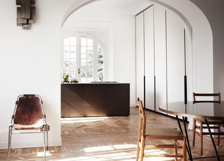 quincoces drago rome apartment 08 750x540
