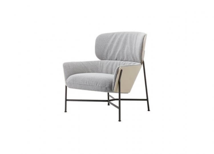 Caristo Low Back Armchair Space Furniture