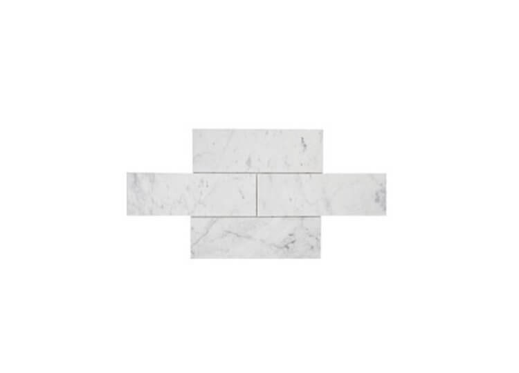 Carrara Honed Mosaic