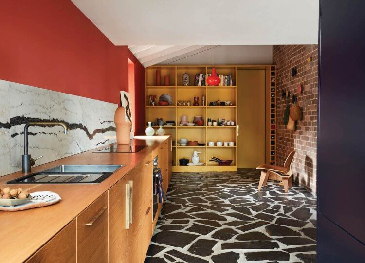 Kitchen | Polychrome House by Amber Road