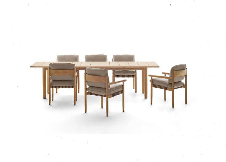 DEDON TIBBO Dining Tables Cosh Living