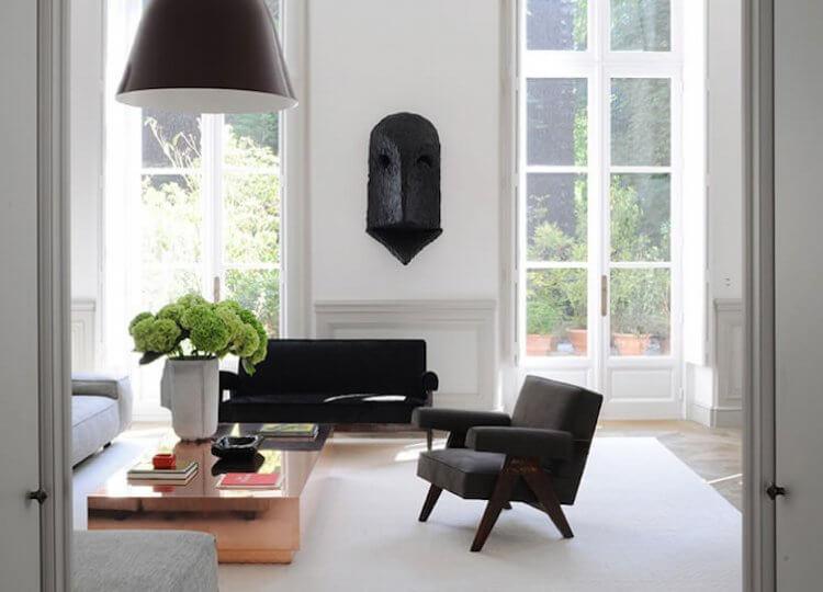 Living | Parisian Apartment by Joseph Dirand