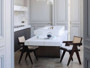 Kitchen: Parisian Apartment by Joseph Dirand