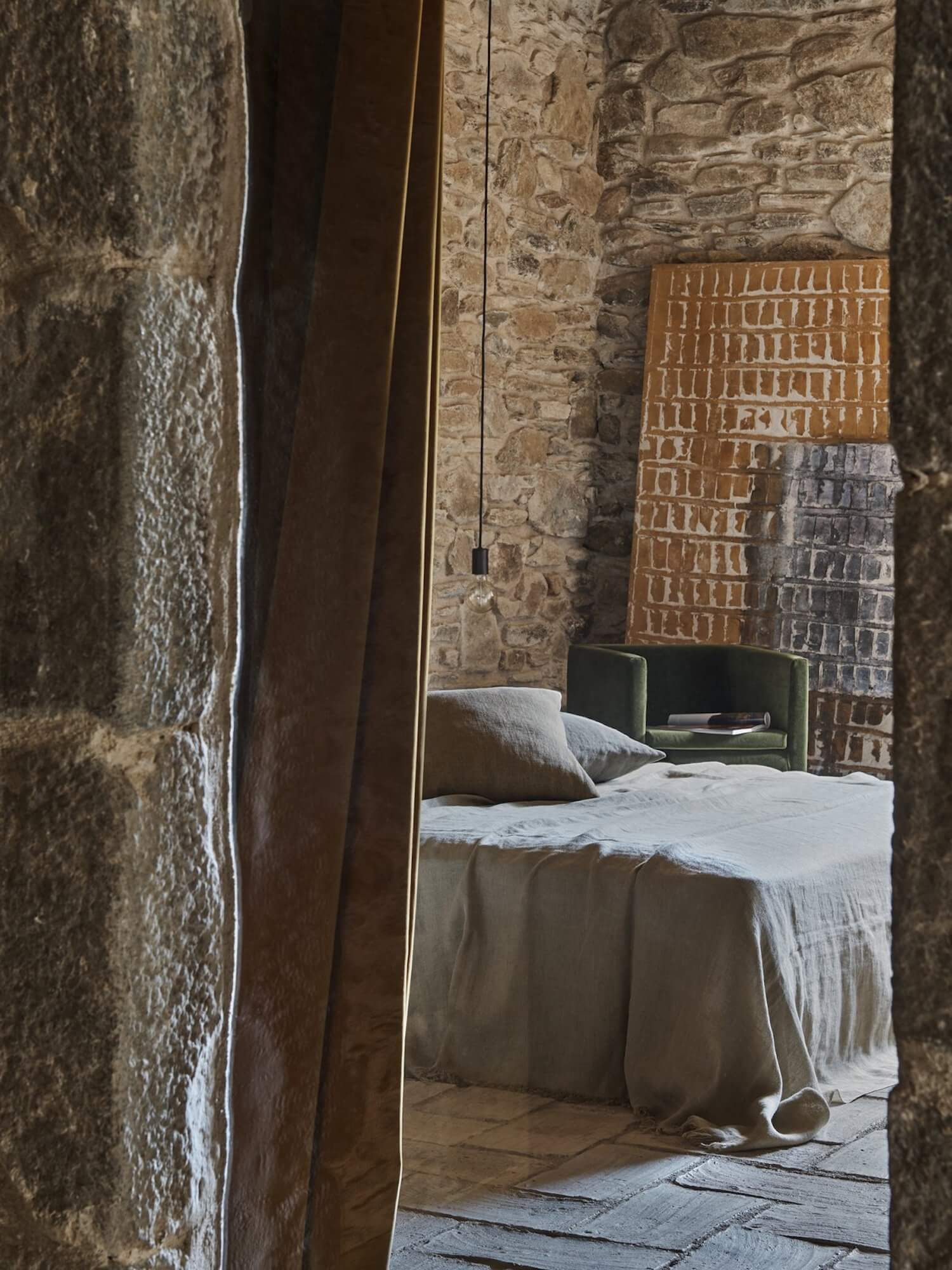 Rustic Bedroom Catalonian Farmhouse Est Collection: Rural Spanish Retreats