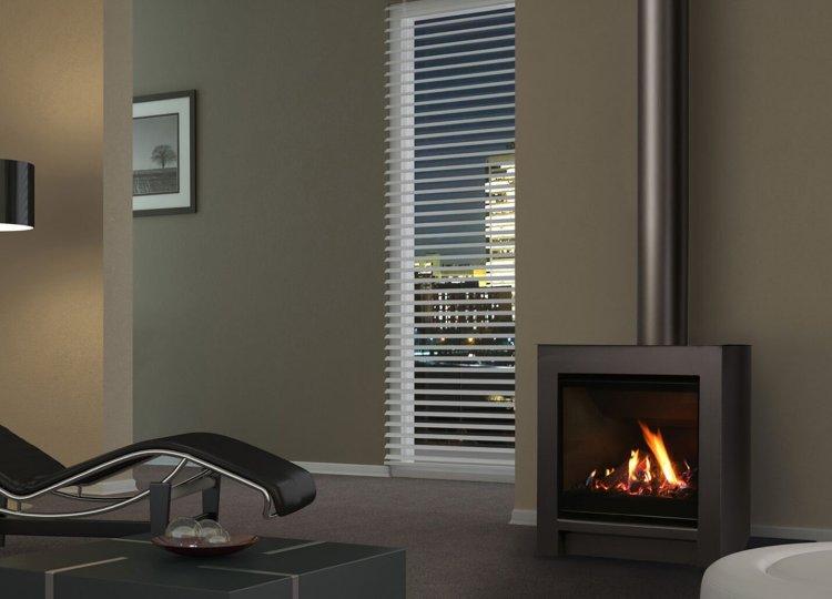 Escea DFS730 Gas Fireplace Stoke