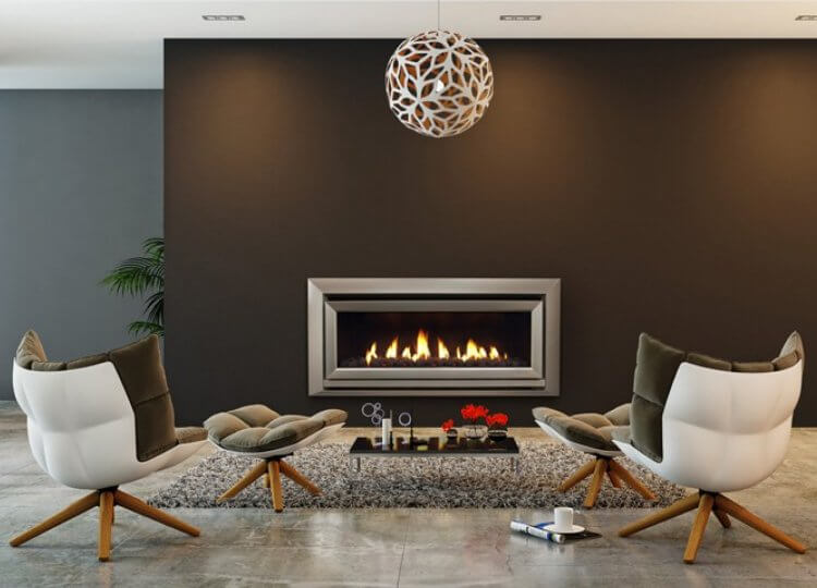 Escea DL1100 Gas Fireplace Stoke
