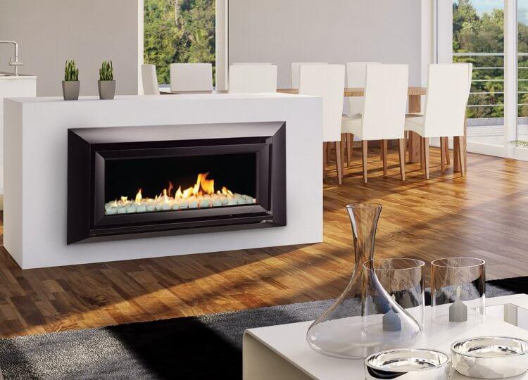 Escea DL850 Gas Fireplace Stoke