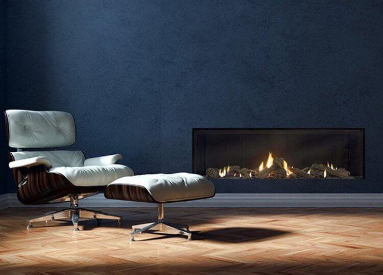 Escea DS1400 Gas Fireplace (Single Sided)