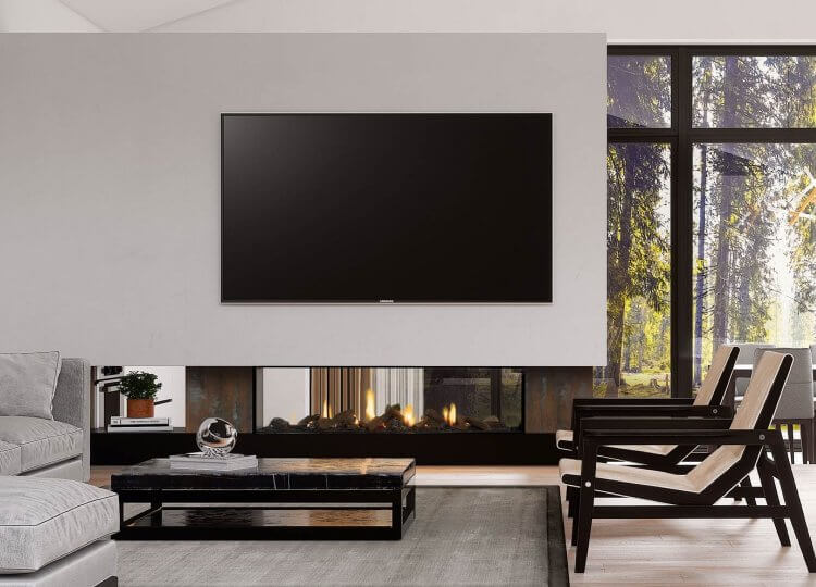 Escea DS1650 Gas Fireplace (Double Sided)